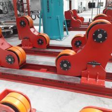 Blocuri cu role (rotatoare) cu autocentrare WICON - Manipulatoare, paturi de role