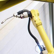 Sisteme fixe - rotative - Roboti pentru sudura