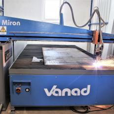 Masina de debitat Vanad Miron - Mese debitare cu CNC -oxigaz, plasma, laser