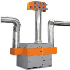 Sistem filtrare interioara pentru ateliere - Sisteme de filtrare si ventilatie