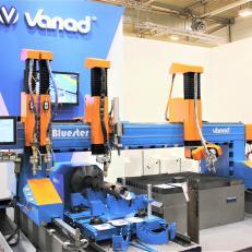 Vanad Bluester - masina de debitat cu plasma - Mese debitare cu CNC -oxigaz, plasma, laser