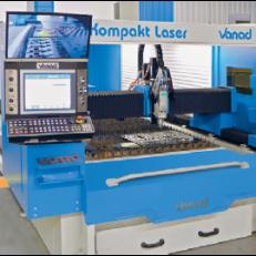 Vanad KOMPAKT -masina de debitat cu laser - Mese debitare cu CNC -oxigaz, plasma, laser